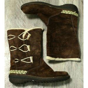 Ugg Womens Kona Brown Winter Boots Size 9